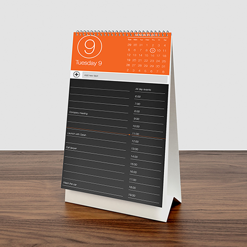 kalender-meja