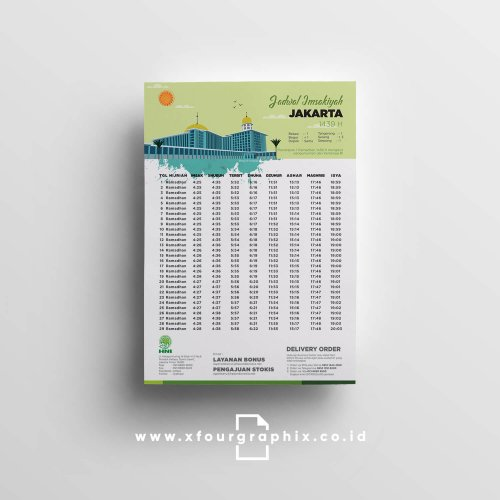 Brosur Imsakiyah Ramadhan